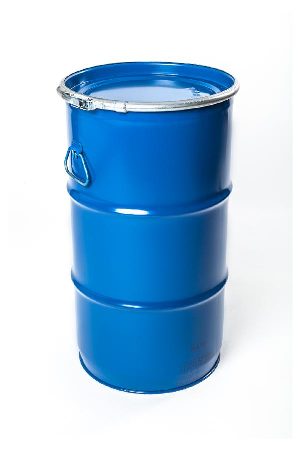 Deckelfass Stahlfass Fass WESER Industrieverpackungen Gefahrgutverpackungen · NRW