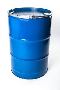 Spundfass Spannring Stahlblechverpackung WESER Industrieverpackungen Gefahrgutverpackungen · NRW