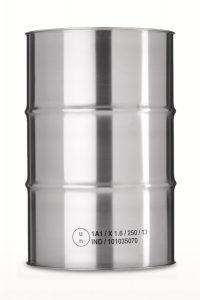 Edelstahlfass 216 Liter WESER Industrieverpackungen Gefahrgutverpackungen · NRW