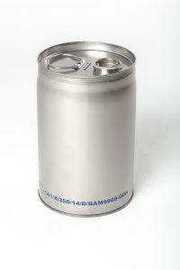 Edelstahlfass WESER Industrieverpackungen Gefahrgutverpackungen · NRW