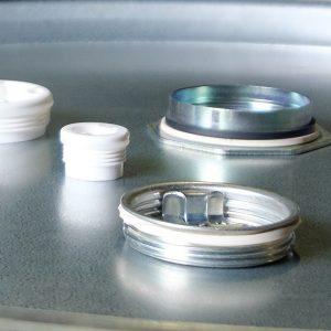 Verschlüsse Siegelkappen WESER Industrieverpackungen Gefahrgutverpackungen · NRW
