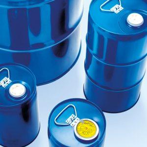 Stahlblechverpackungen Fässer WESER Industrieverpackungen Gefahrgutverpackungen · NRW