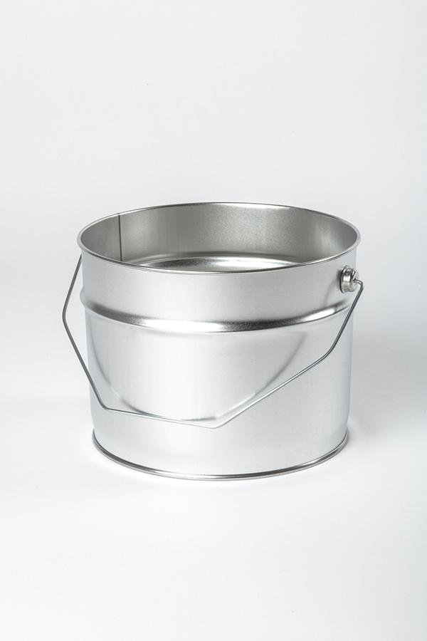 Weißblech Eimer mit Henkel Verpackung WESER Industrieverpackungen Gefahrgutverpackungen · NRW