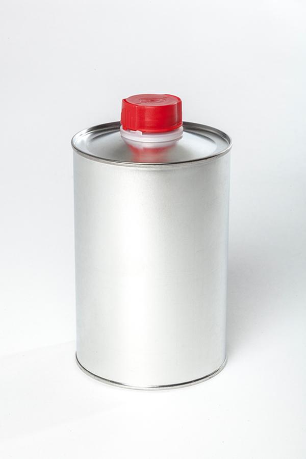 Flasche Schraubverschluss Weißblech WESER Industrieverpackungen Gefahrgutverpackungen · NRW