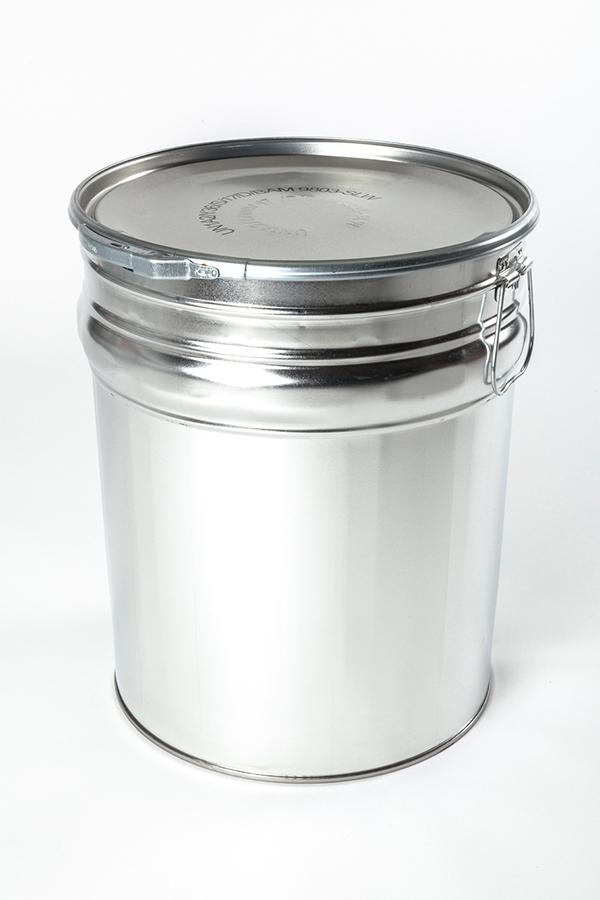 Hobbock Weißblech Spannring Verpackun WESER Industrieverpackungen Gefahrgutverpackungen · NRW