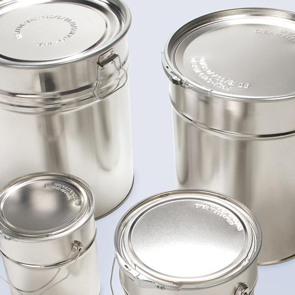 Weißblechverpackungen Dosen Eimer WESER Industrieverpackungen Gefahrgutverpackungen · NRW
