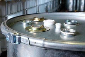 Verschlüsse Verpackungen Fass Zubehör WESER Industrieverpackungen Gefahrgutverpackungen · NRW