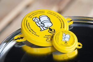 Siegelkappe Verschluss Zubehör Fass WESER Industrieverpackungen Gefahrgutverpackungen · NRW
