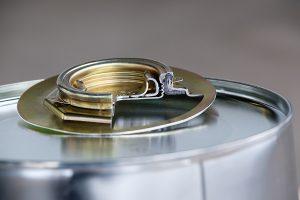 Verschluss Verschlüsse Stahlblechverpackungen WESER Industrieverpackungen Gefahrgutverpackungen · NRW